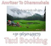 One Way and Round Trip Amritsar To Dharamshala Taxi Fare