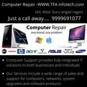 Computer Repairs in Home Service   Laptop Repairing Call: 9999691077