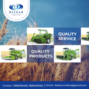 Best combine harvester For All Types of Soils