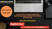 Scrum Master Certification-Register Now and Get upto 30% Discount