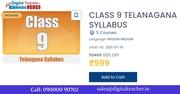 Class 9 Telangana Syllabus / Digital Teacher Canvas