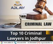 Top 10 Criminal Lawyers in Jodhpur