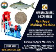 MANUFACTURER & EXPORTER OF FISH FEED MAKING MACHINE