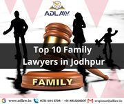Top 10 Family Lawyers in Jodhpur