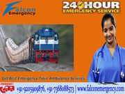 Get Best and Safe Train Ambulance Patna to Mumbai at Low Fare